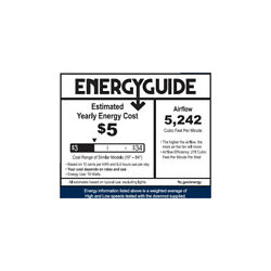 Emerson Fans Cf4502bq Crown Select Indoor Ceiling Fan Barbeque Black