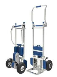New Xsto 375 Lbs Electric Stair Climbing Hand Truck Cart Dolly- No Brake