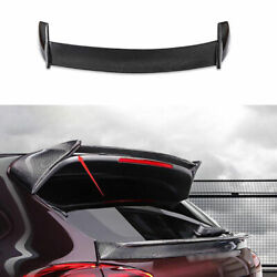 For Porsche Cayenne 2014-2016 2017 Dry Carbon Fiber Roof Boot Spoiler Wing Flap