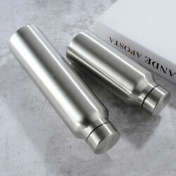 Portable Outdoor Stainless Steel Single Wall Large Capacity Water Bottles Mugs