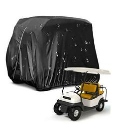 Golf Cart Coverwaterproof Snowproof Golf Club Cover For 4 Passenger Seat 210d