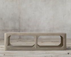 Restoration Hardware And039martensand039 60 Square Coffee Table
