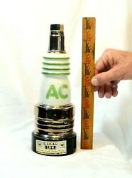 Vintage 1977 Ac Delco Jim Beam 100 Month Old Straight Bourbon Whiskey Decanter
