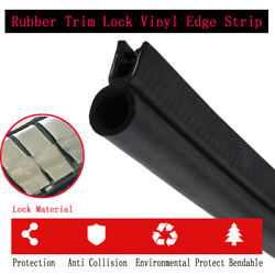 60and039and039 Vehicle Edge Trim Seal Decorate - Defend Use For Doors Hood Lid Engine Etc