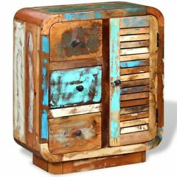 Usa Solid Reclaimed Wood Sideboard Antique Retro Highboard Console Cabinet