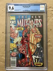 The New Mutants 98 Newsstand-rare Feb 1991 Marvel Cgc 9.6 White Pages