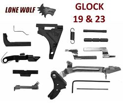 Lone Wolf Trigger Parts Lwd Lower P-80 Pf940-c Mag Release Kit Glock 19 23 32