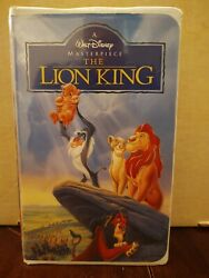 Walt Disneyand039s The Lion King Masterpiece Collection 2977 Clamshell Vhs 1995