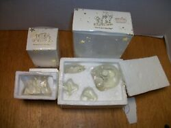 Dept 56 Snowbabies Pewter Miniatures Waiting For Christmas And You Can't Find Me