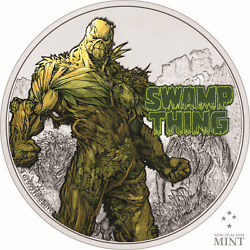 Niue 2021 - Justice League - Dc Comics - Swamp Thing - 2 Silver Coin 1oz