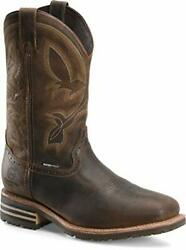 Double-h Boots - Mens - Mens 12 Inch Waterproof Insulated Comp Toe Wide Square R