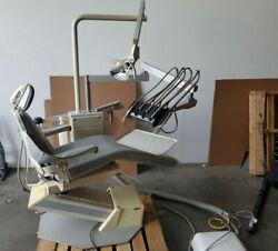 A-dec Dental Chair Priority 1005 With Light And Delivery Unit Good Condition