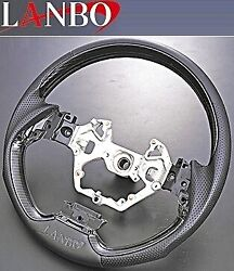 Mand039s Toyota C-hr Zyx10/ngx50 Made By Lanbo Gun Grip Steering Type1 Carbon Tone