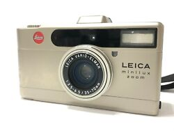 Leica Minilux Zoom 35mm Point And Shoot Film Camera From Japan 36160197400 P