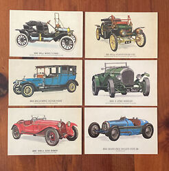 Set Of Six Postcards By Collectors Reproductions Fine Art Lithograph By Prescott