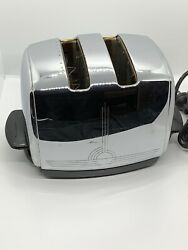 Vintage Sunbeam T-20c Radiant Control Automatic Toaster Works Great Circa 50s