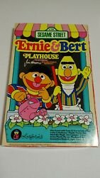 Vintage 1980and039s Colorforms Sesame Street Bert And Ernie