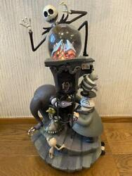 Nightmare Before Christmas 10th Anniversary Snow Globe F/s From Japan