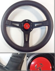 Fiat 500 600 A112 Abarth - Steering Wheel With Horn-button Abarth 320mm.
