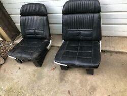 T Bird Thunderbird Front Bucket Seat Pair Should Fit 1958 To 1966 Series