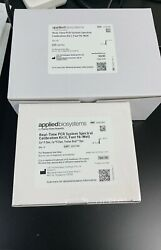 Applied Biosystems Abi 7500 Fast Pcr Systems Calibration Kit4360788 Plus4362201