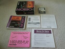 Master Of Orion Ibm Pc Dos Computer Game In Box With Manual 1 I
