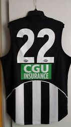 Collingwood Magpies Afl Football Jersey Size L