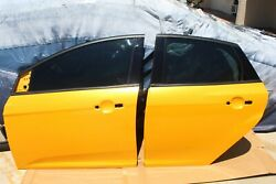 2013-2018 Ford Focus St Oem Lh Driver Side Front And Rear Doors Lp Yellow Color