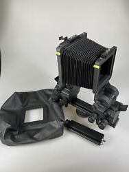 Cambo Ultima D 23d View Camera With Bellows Wise Angle Bellows Rail Extension