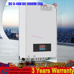1000w 20a Adjustable Current And Voltage Dc 0-48vdc Switch Mode Power Supply