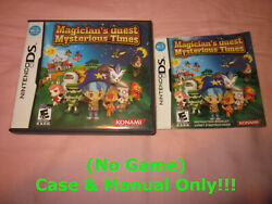 No Game Case And Manual Only Magicianand039s Quest Mysterious Times Nintendo Ds