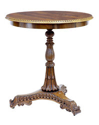 19th Century Carved Regency Palisander Occasional Table