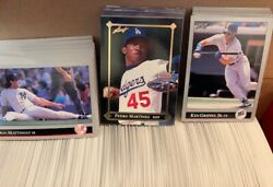 1992 Leaf 528 Card Set + Gold Rookies Set And Preview Set + Wrappers Free Shipping