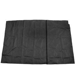 G3 Boat Privacy Curtain 73521446   324 Ss Elite 325 Black 91 X 56 Inch