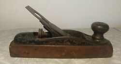 Antique And039upson Nut Co.and039 Coffin Wood Plane