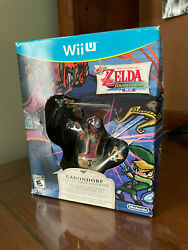 The Legend Of Zelda The Wind Waker Hd Limited Edition Game Sealed With Figurine