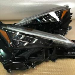 Lexus Ux250h/ux200 Headlights Left + Right Triple Led Complete With Ballast