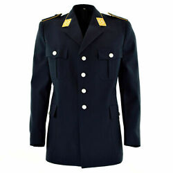 New Original German Army Dress Jacket Blue Air Forces Uniform Expedited Shipping
