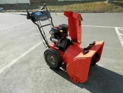 Snow Blower Ariens Deluxe 24 Inch Clearing Width Electric Starter