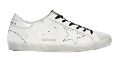 Golden Goose Superstar Leather Low-top Women's Sneaker White Sizes 35-41/ 5-11