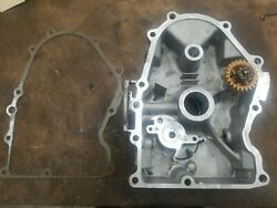 Kohler Command 25hp Cv25s-69542 Oil Pan, Gasket And Helical Governor Gear