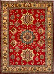 Vintage Hand-knotted Carpet 9'8 X 13'3 Traditional Oriental Wool Area Rug