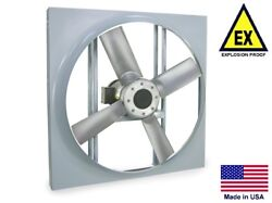 Panel Axial Exhaust Fan - Explosion Proof - 16 - 115/230v - 3/4 Hp - 3950 Cfm