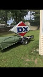1960s Lighted Dx Sign