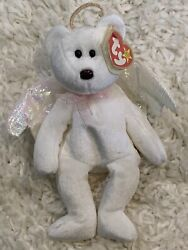 Ty Retired Halo Angel Beanie Baby With Brown Nose