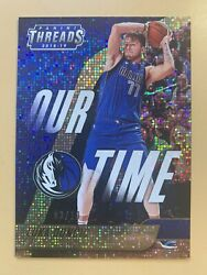 2018-19 Panini Threads Luka Doncic Our Time Gold 3/10 Very Rare Rookie