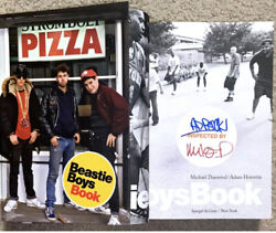 Beastie Boys Signed Hard Cover Book Mike D And Ad Rock