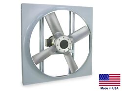 Panel Axial Exhaust Fan - Direct Drive - 20 - 230/460v - 2 Hp - 7970 Cfm