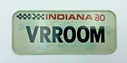 1980 Indiana Post Cereal License Plate Vrroom