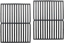 2 Pack Replacement Cast Iron Cooking Gas Grill Grates For Weber Genesis Spirit